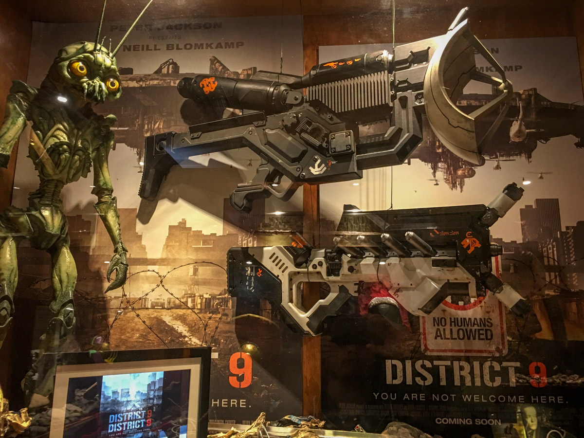 District 9, Weta Workshop tour, Wellington, North Island, New Zealand