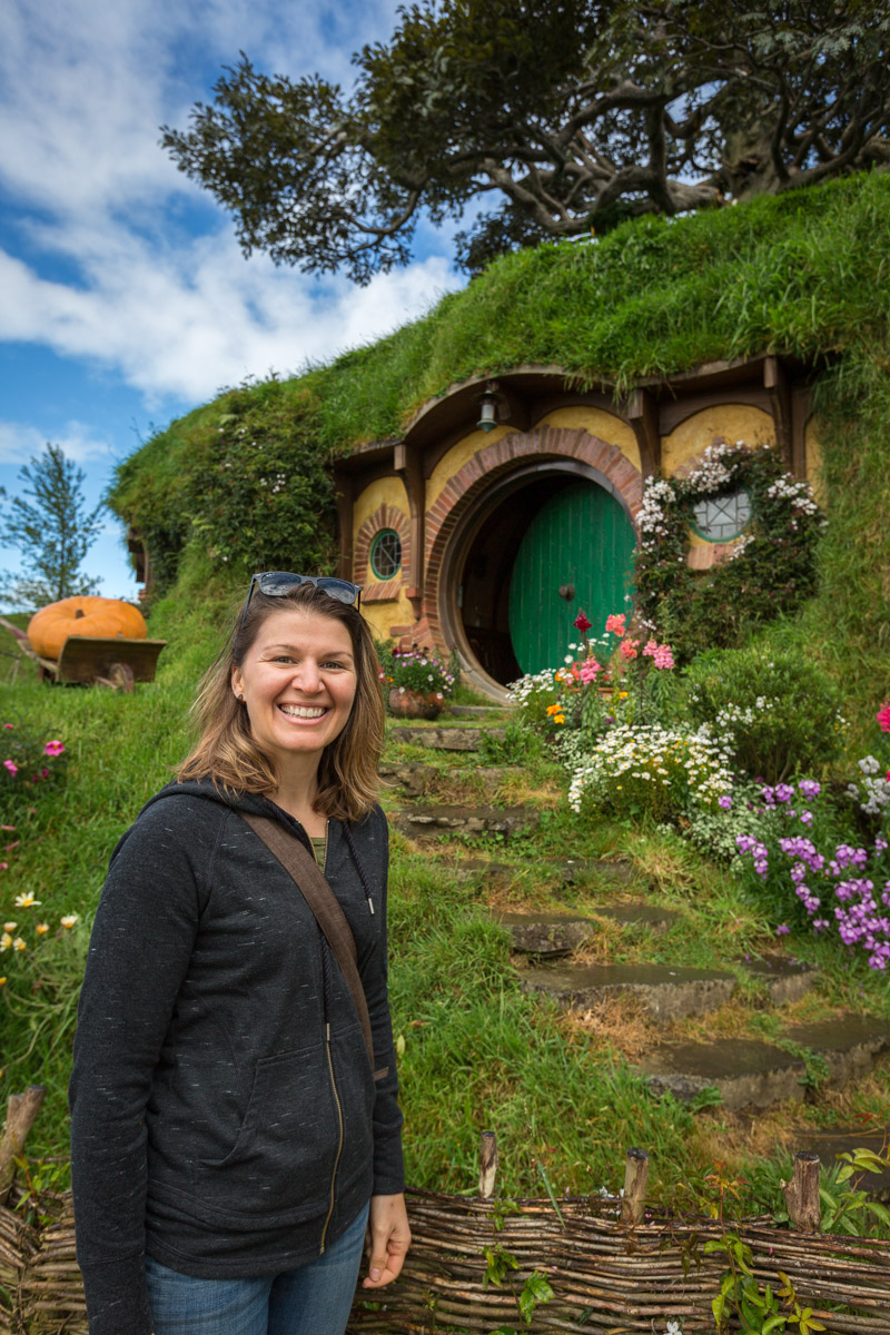 Hobbiton in Matamata, North Island, New Zealand
