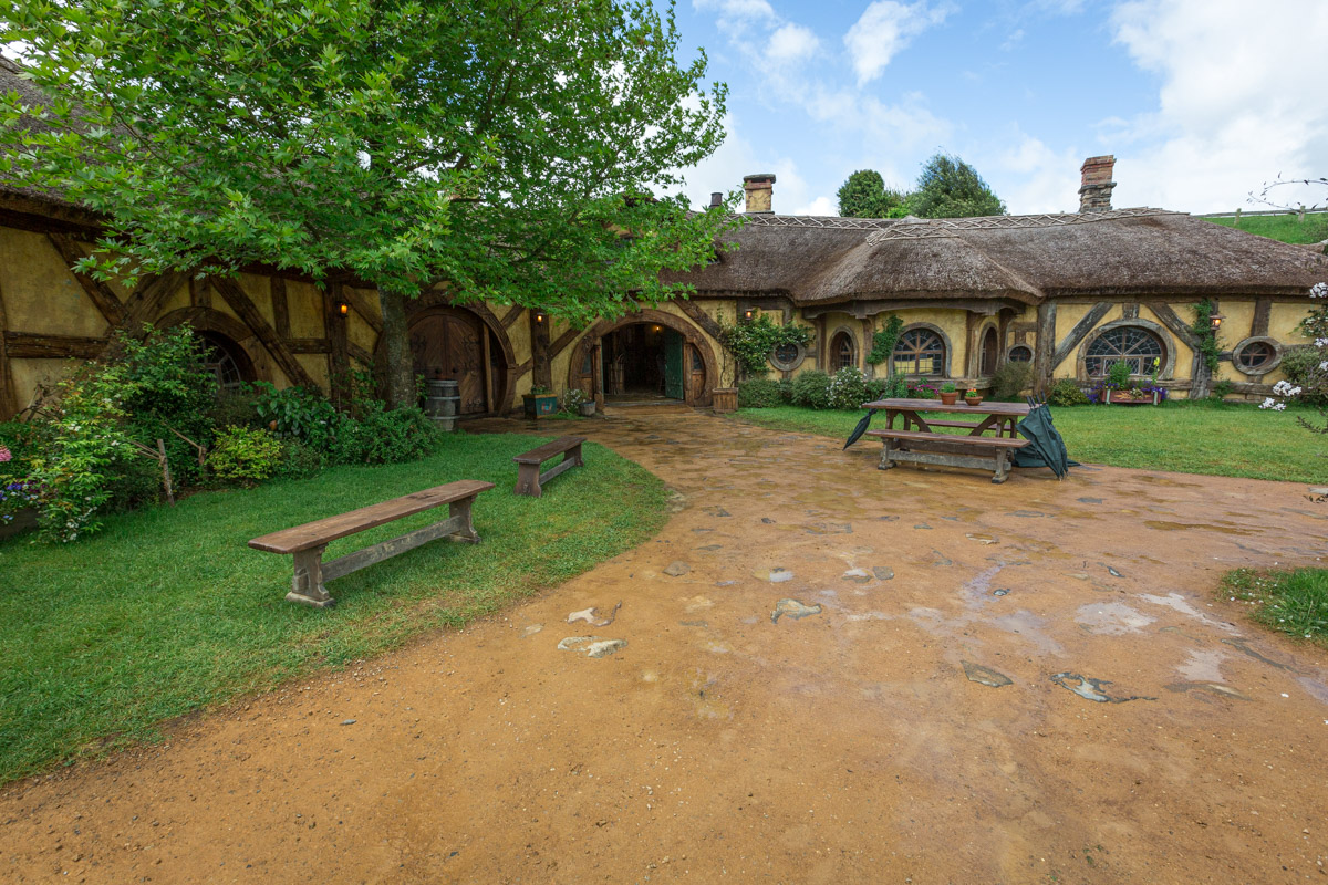 The Green Dragon, Hobbiton in Matamata, North Island, New Zealand