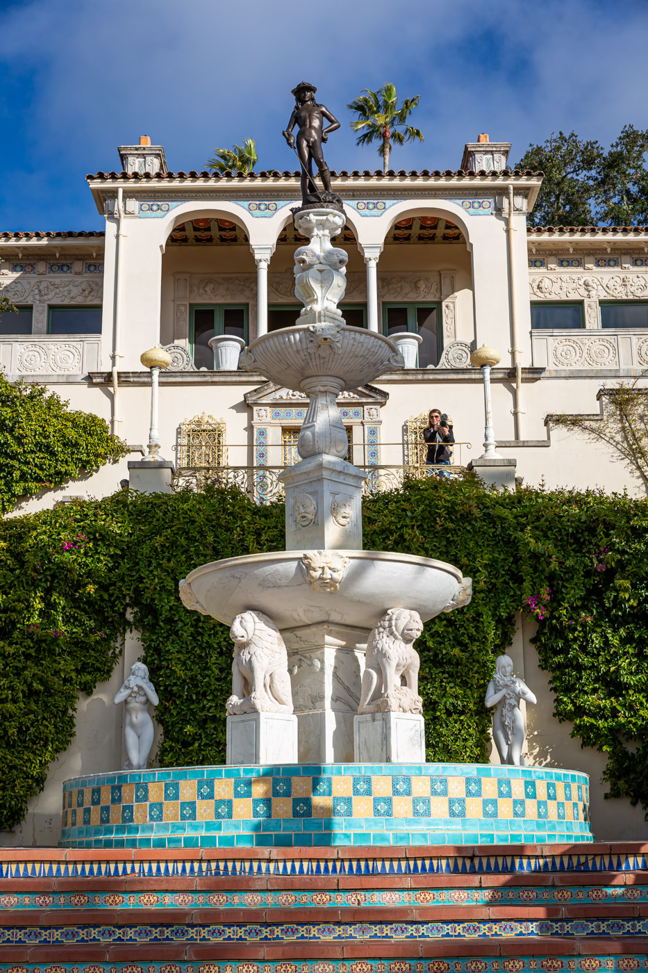 Casa Del Sol at Hearst Castle. On the Hearst Castle Tours