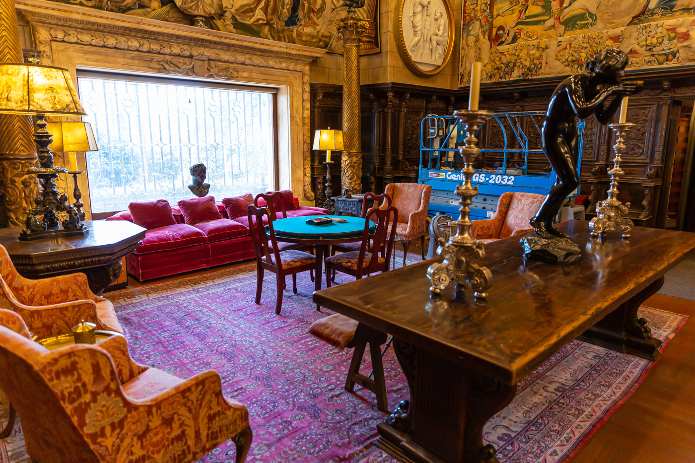 The Assembly Room, Grand Rooms Tour. Hearst Castle Tours