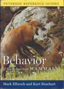 Behavior of Mammals by M. Elbroch and K. Rinehart.