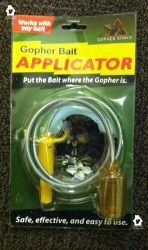 Gopher Snake bait applicator