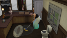 Mopping up spills