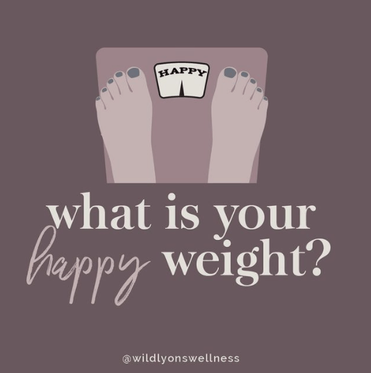 What Is Your Happy Weight?