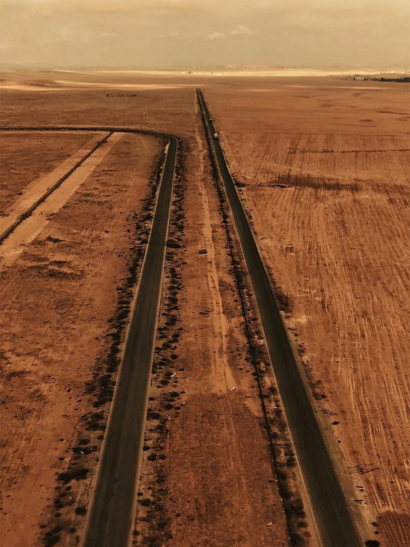 Jordan Desert Drone