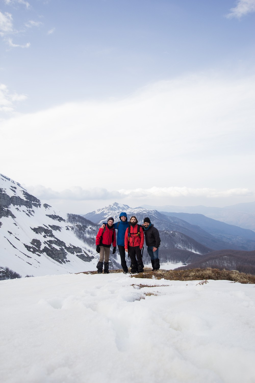 Monte Rondinaio Winter Hike