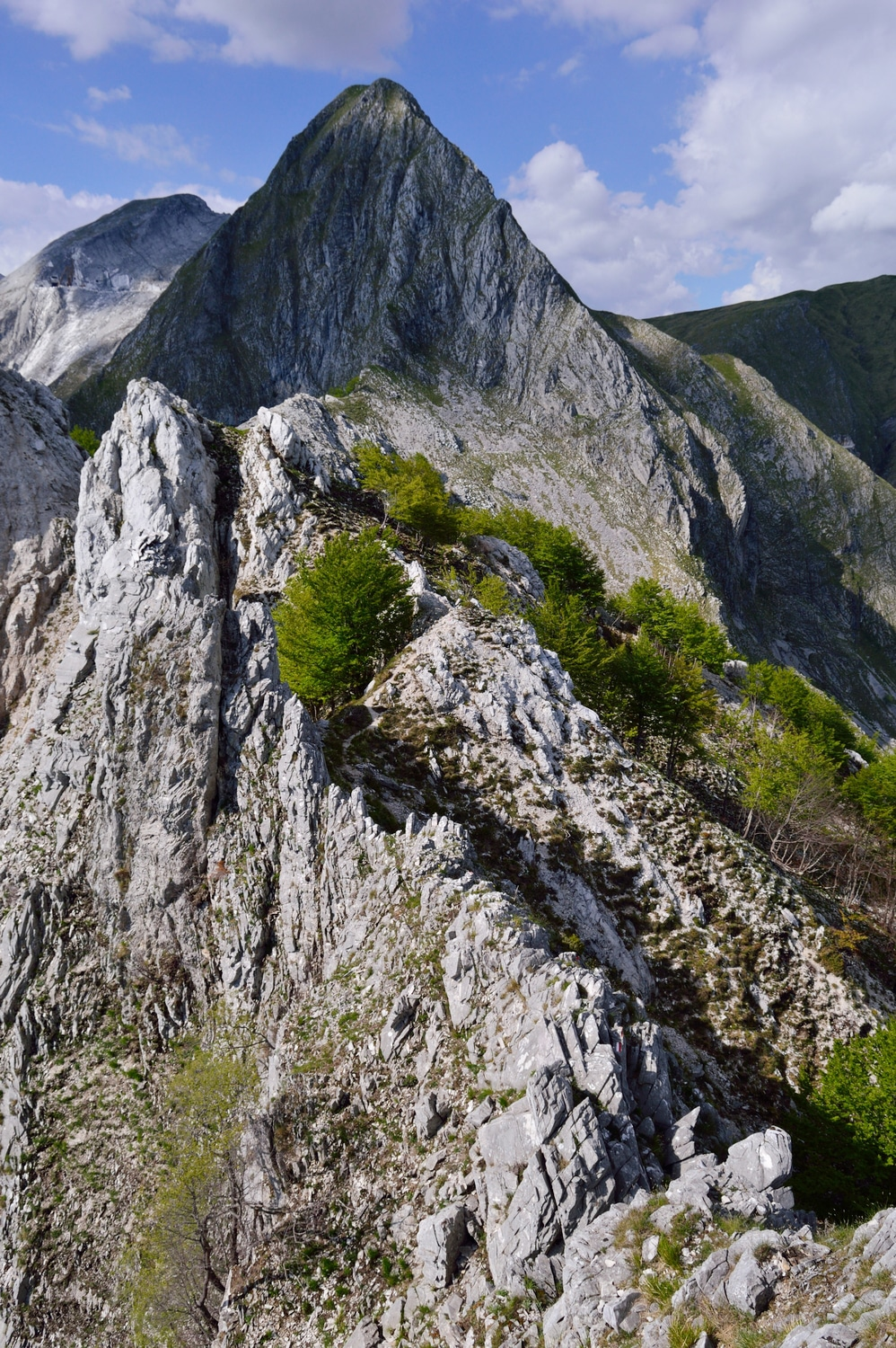 Schienale dell'Aasino Apuan Alps