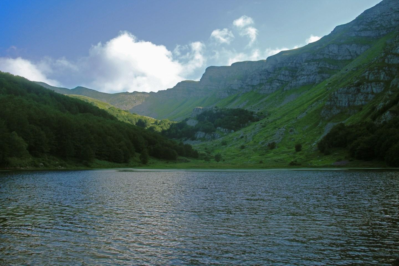 Lago Baccio Monte Rondinaio Summer Hike