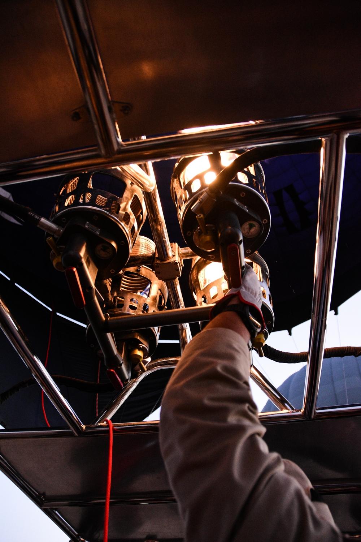 Hot Air Balloon Dubai Desert Pilot