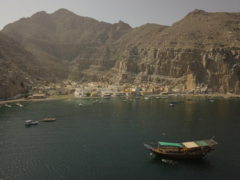 Kumzar Drone Shot Oman