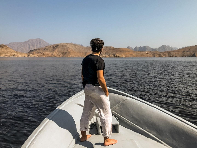 Musandam Fjords Oman Khasab Dhow Cruise
