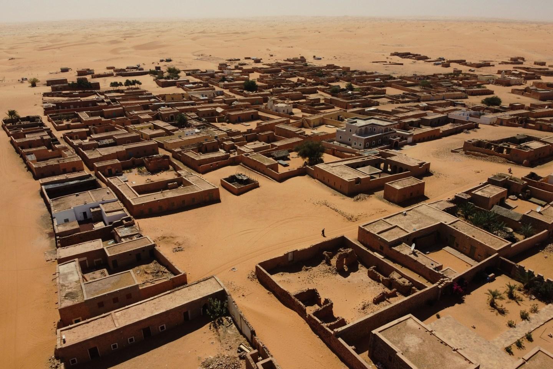Chinguetti Sahara Desert