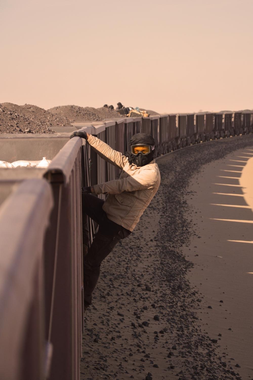 Riding the Ore Iron Train Mauritania Sahara Desert