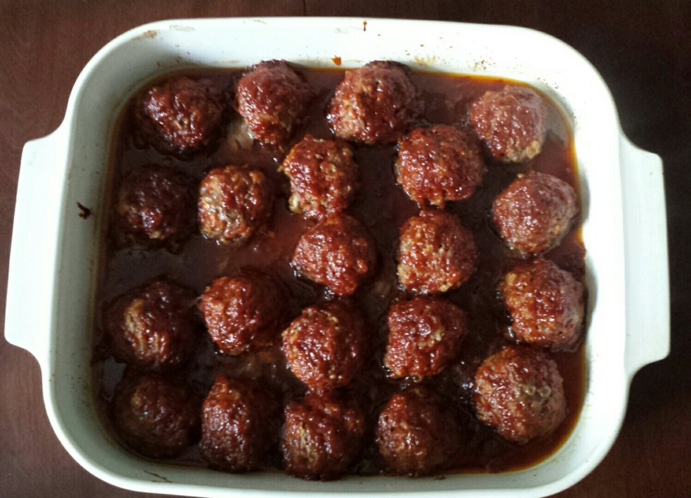 Day 42 - BBQ Meatballs (4/4)