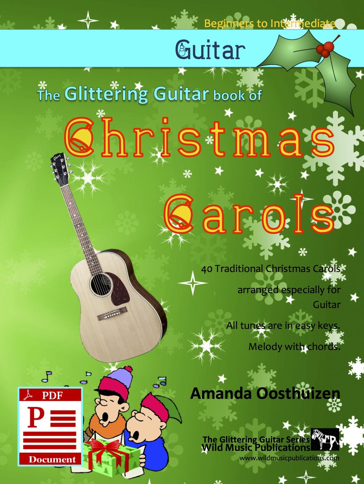 Christmas Carols For Guitar Wild Music Publications