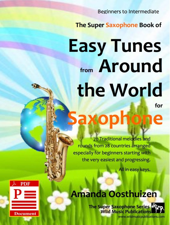 Easy Tunes from Around the World for Saxophone Download