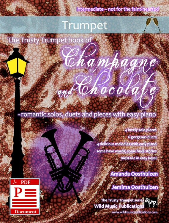 The Trusty Trumpet book of Champagne and Chocolate Download