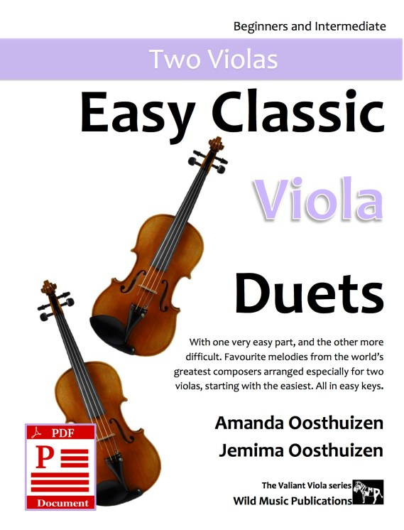 Easy Classic Viola Duets Download