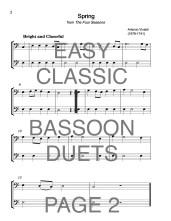 Easy Classic Bassoon Duets Web Sample2