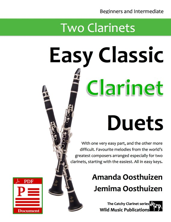 Easy Classic Clarinet Duets Download