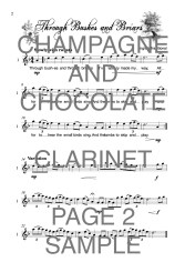 The Catchy Clarinet book of Champagne and Chocolate WEB SAMPLE1
