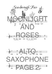 The Super Saxophone Book of Moonlight and Roses Web Sample1