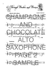 The Super Saxophone book of Champagne and Chocolate Web Sample1