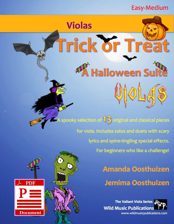 Trick or Treat - A Halloween Suite for Viola Download