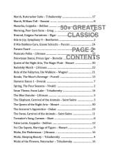 50+ Greatest Classics CONTENTS SAMPLE2