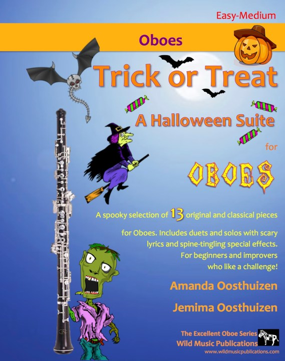 Trick or Treat - A Halloween Suite for Oboes