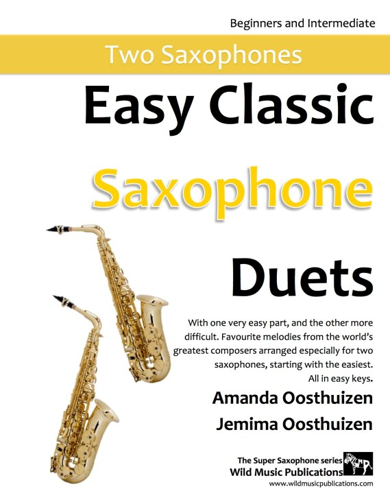 Easy Classic Saxophone Duets