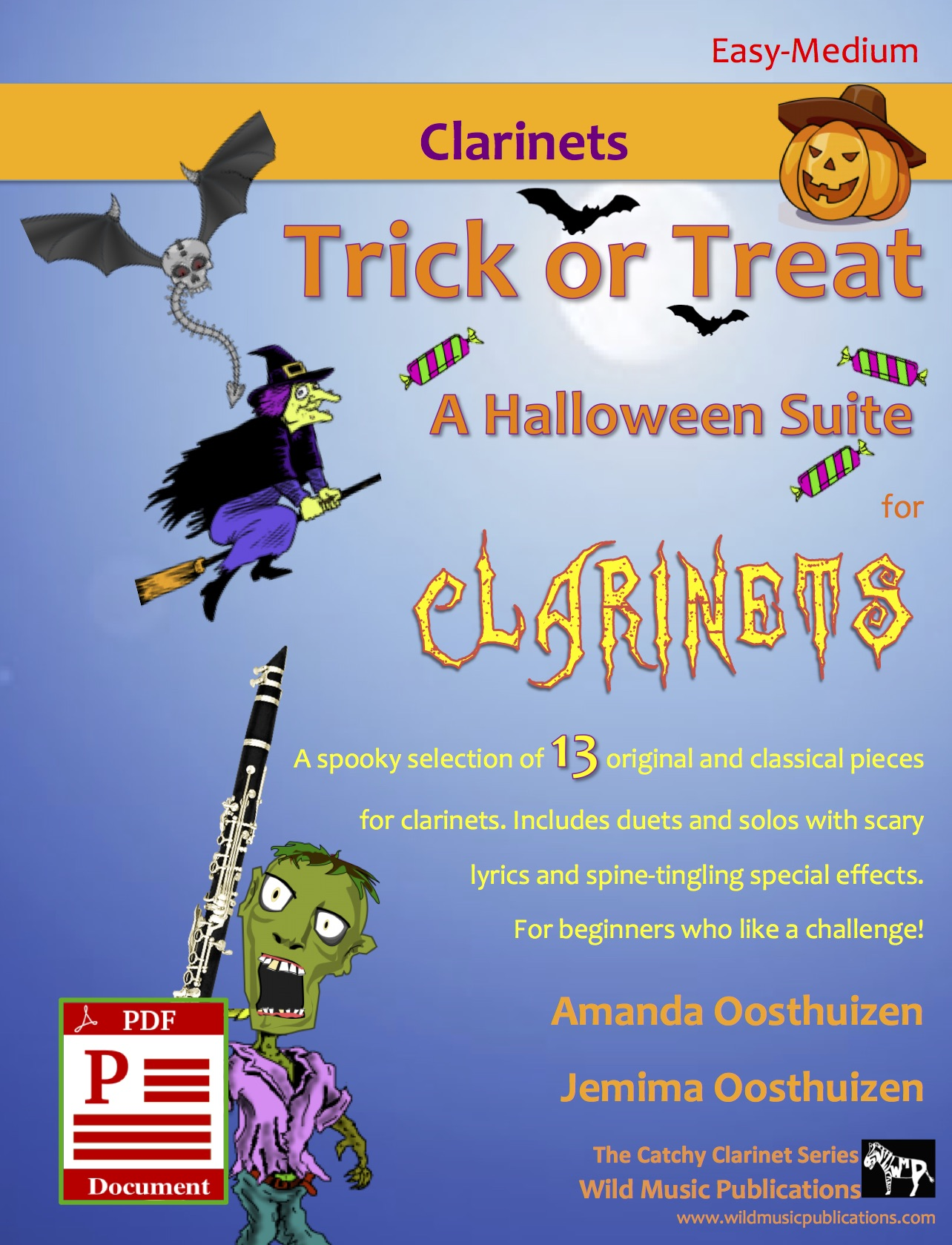 Trick or Treat - A Halloween Suite for Clarinets Download