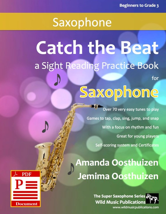 Catch the Beat Saxophone Sight Reading Download