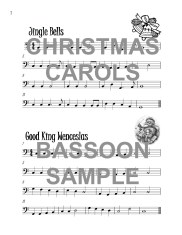 The Brilliant Bassoon book of Christmas Carols Web Sample