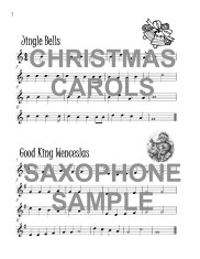 The Super Saxophone Book of Christmas Carols Web Sample