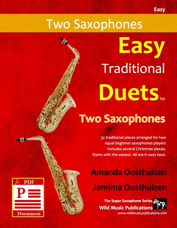 Easy Traditional Duets for Two Saxophones Download