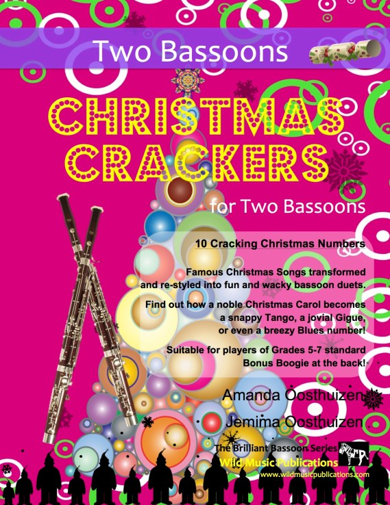 Christmas Crackers for Two Bassoons