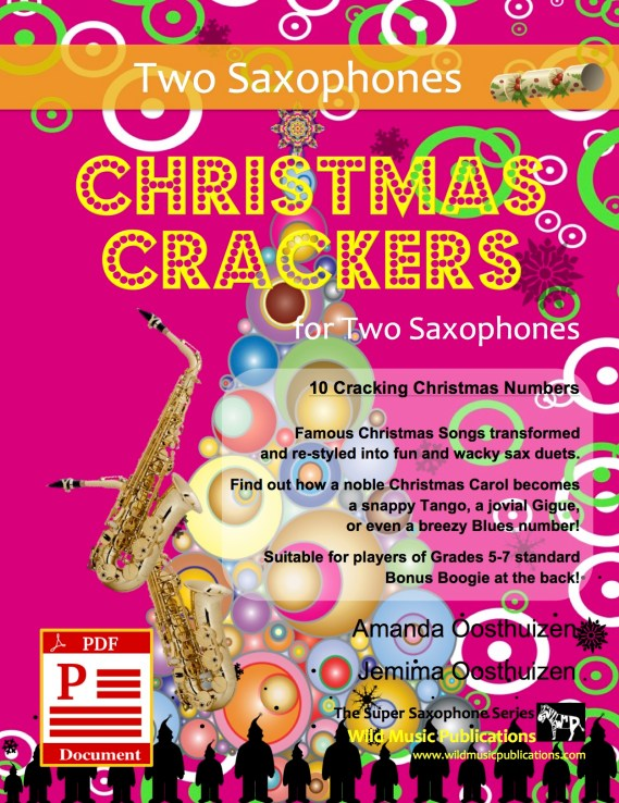 Christmas Crackers for Two Saxophones Download