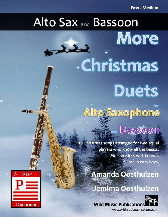 More Christmas Duets for Alto Saxophone and Bassoon Download
