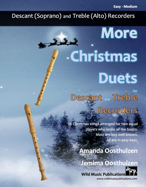 More Christmas Duets for Descant and Treble Recorders