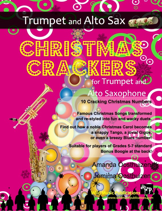 Christmas Crackers for Trumpet and Alto Saxophone