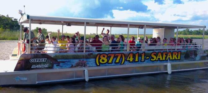 WildNative Delta Safaris Educational Boat Charter