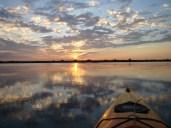 Kayak Delta Sunset