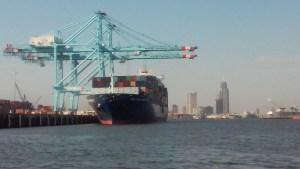 Offloading Cargo