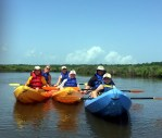 Kayakers in Oyster Bay, Gulf Shores