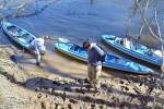 """Kayaks at Mound Island by """"Barbara Haines"""""""
