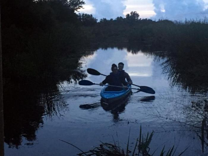 Paddling in the Lower Delta