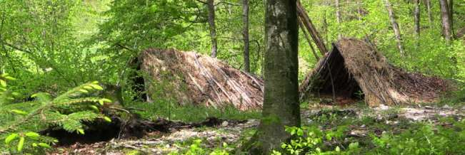 Survival Kurs Shelter Biwak
