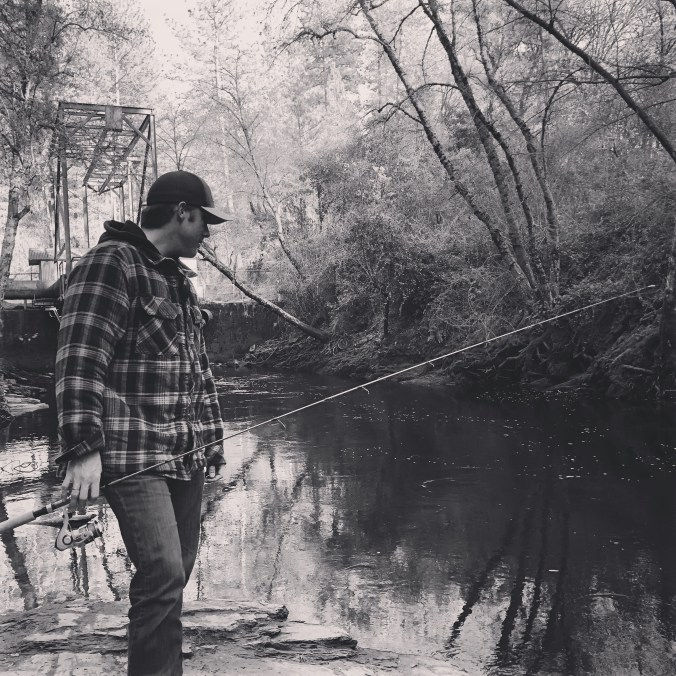 Fishing is about connecting nature. There are no rules, just me, a rod, and the western wild.